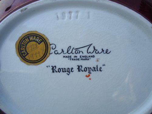 Antiga Travessa Porcelana Inglesa Carlton Ware