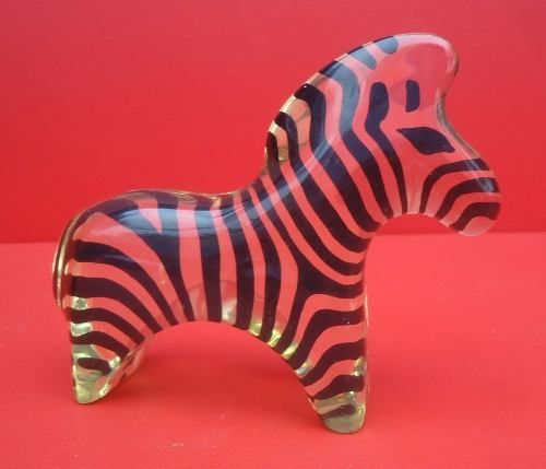 Escultura Em Acrilico Palatnik Zebra