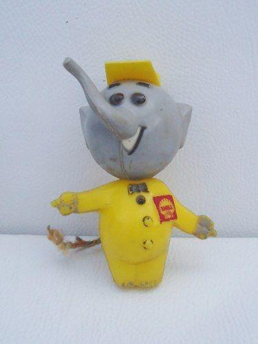 Brinquedo Antigo Promocional Elefantinho Shell
