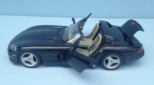 Miniatura Dodge Viper Rt/10 Burago 1/18