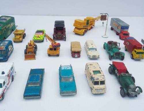 H1 Lote Miniaturas Matchbox Lesney Leia A Descrição