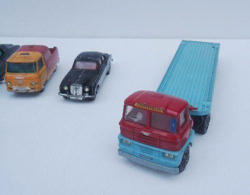 Antigo Lote Miniaturas Corgi Toys H6