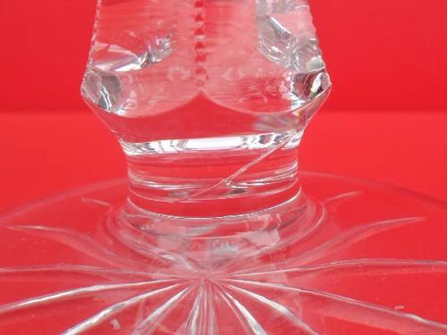 Centro De Mesa Em Cristal 22cm De Altura
