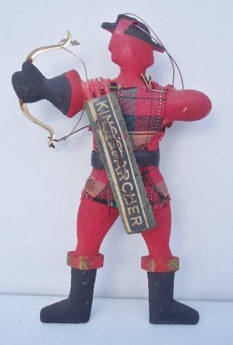 Antigo Boneco King's Archer Whisky Rarissimo