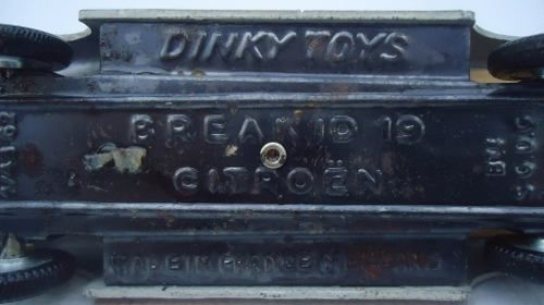 Miniatura Dinky Toys Break Id 19 Citroen