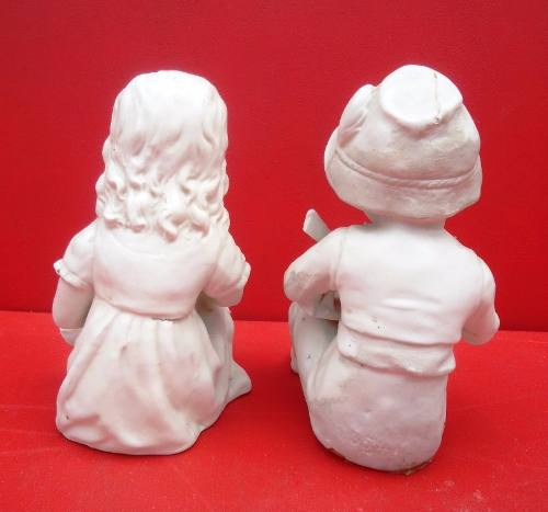 Esculturas Em Biscuit Bibelo Antigo