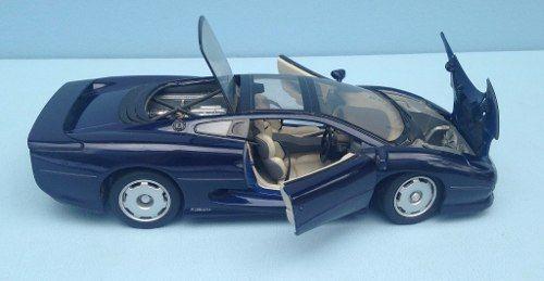 Miniatura Jaguar Xj 220 Maisto 1/18 Azul Marinho