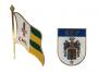 2 Insignia Emblema Militar Antiga