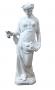 Antiga Escultura Ceramica Estaçao Do Ano Outono 85cm