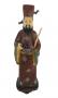 Antiga Escultura Chinesa Em Cloisonne Na Caixa Original