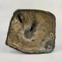 Antiga Escultura Em Bronze Do Artista Marmura