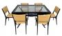 Antiga Mesa De Jantar 6 Cadeiras Design Anos 50 Pe Palito
