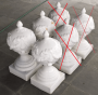 Antiga Pinha Porcelana Decoração Guirlanda 70cm