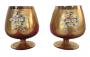 Antiga Taça Cristal Veneziano Flores Alto Relevo