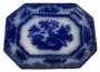 Antiga Travessa Borrao Porcelana Inglesa Magnifica