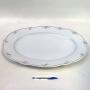 Antiga Travessa Oval Gigante Porcelana C.T 58cm