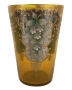 Antigo Balde De Gelo Cristal Veneziano Flores Alto Relevo