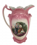 Antigo Jarro De Gomil Porcelana Inglesa Wood & Sons Perfeito