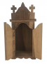Antigo Oratorio Com Portas Em Madeira Maciça