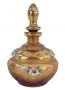 Antigo Perfumeiro Cristal Veneziano Rosa Flores Alto Relevo