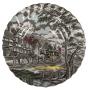 Antigo Prato Fundo Em Porcelana Inglesa Fazendinha Myott