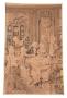 Antigo Quadro Tapeçaria Francesa Gobelin Ou Albusson