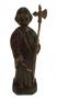 Arte Sacra Santo Sao Judas Tadeu Antigo Em Madeira 19cm Altura