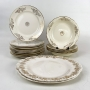 Antigo Aparelho De Jantar Americano Porcelana Homer Laughlin