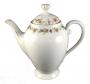 Bule De Cafe Antigo Porcelana Tchecoslovaquia Florido E Ouro
