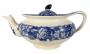 Bule De Cha Em Porcelana Antiga Inglesa Fazendinha