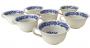Conjunto 7 Xicaras De Cha Porcelana Inglesa Wedgwood