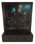 Cristaleira Antiga Porta Cachimbo Em Madeira