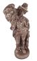 Escultura Antiga Em Ceramica 41cm