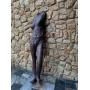 Escultura Terracota Tamanho Real Corpo Feminino Arte Moderna