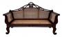 Grande Canape Antigo Banco Palhinha Indiana