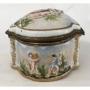 Magnifica Caixa Porta Joia Porcelana Capodimonte De Napoles
