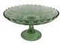 Mini Fruteira Antiga Vidrao Verde Decoraçao Uvas