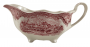 Molheira Antiga Porcelana Inglesa Fazendinha Rosa