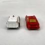 Par Miniatura Antiga Saci Porsche Ambulancia