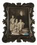 Porta Retrato Antigo Madeira Dourado Envelhecido