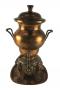 Samovar Antigo De Cobre E Bronze