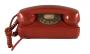 Telefone Antigo Ctb Vermelho