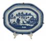 Travessa Antiga Porcelana Oriental Estilo Companhia Das Indias