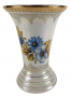 Vaso Porcelana Antigo Furtacor Detalhes Ouro