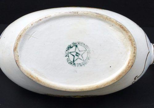 Belissima Molheira Porcelana Conrado Benadio Cena Galante