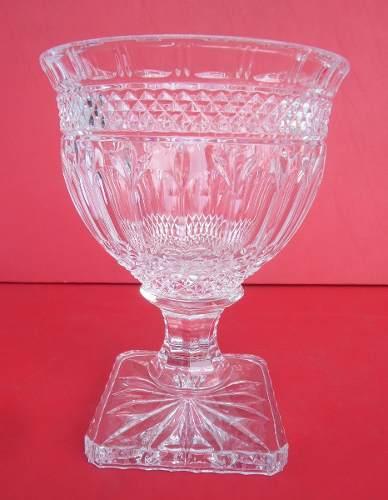 Lindo Vaso Cristal 24,5cm Altura Perfeito