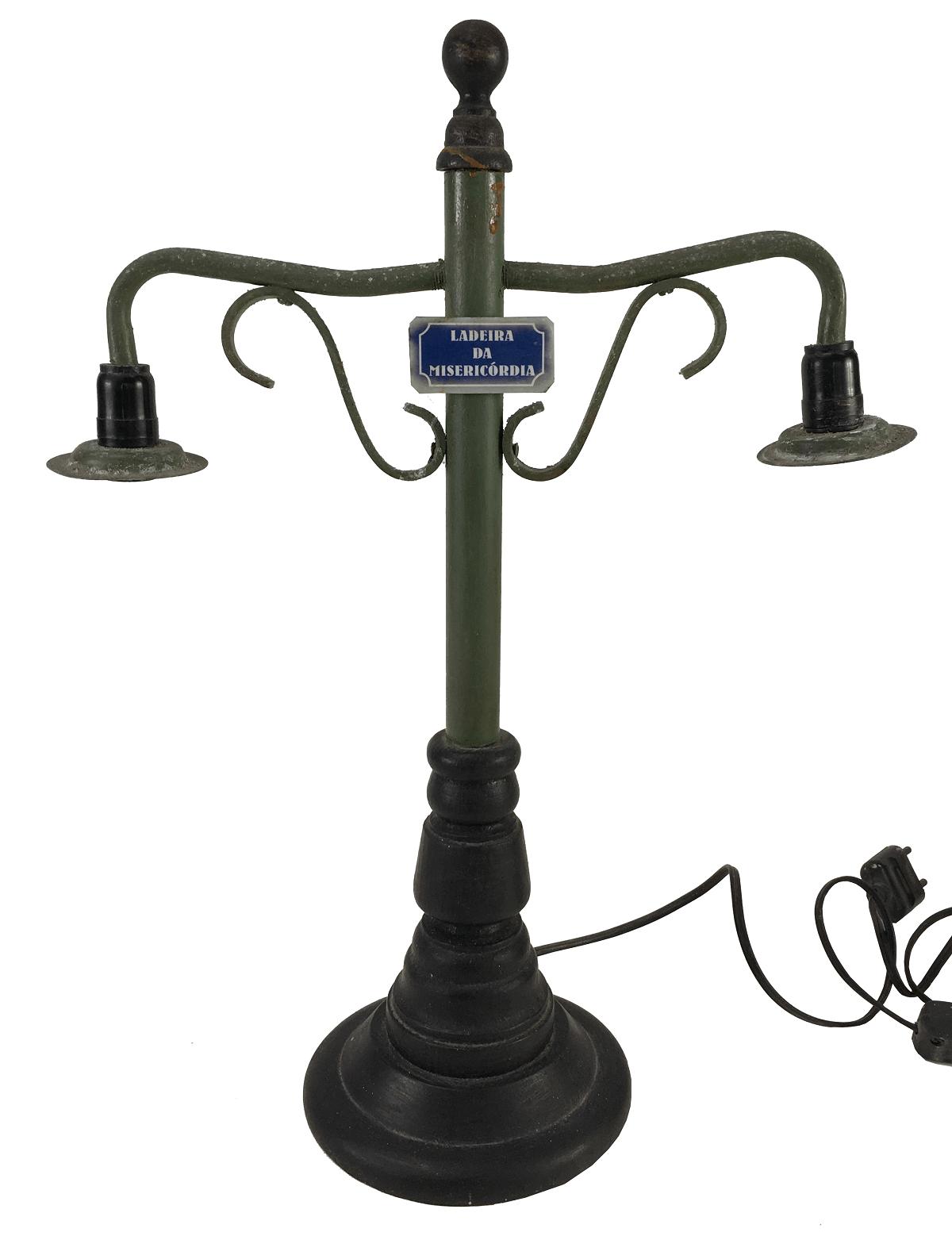 Abajur Luminaria De Mesa Vintage