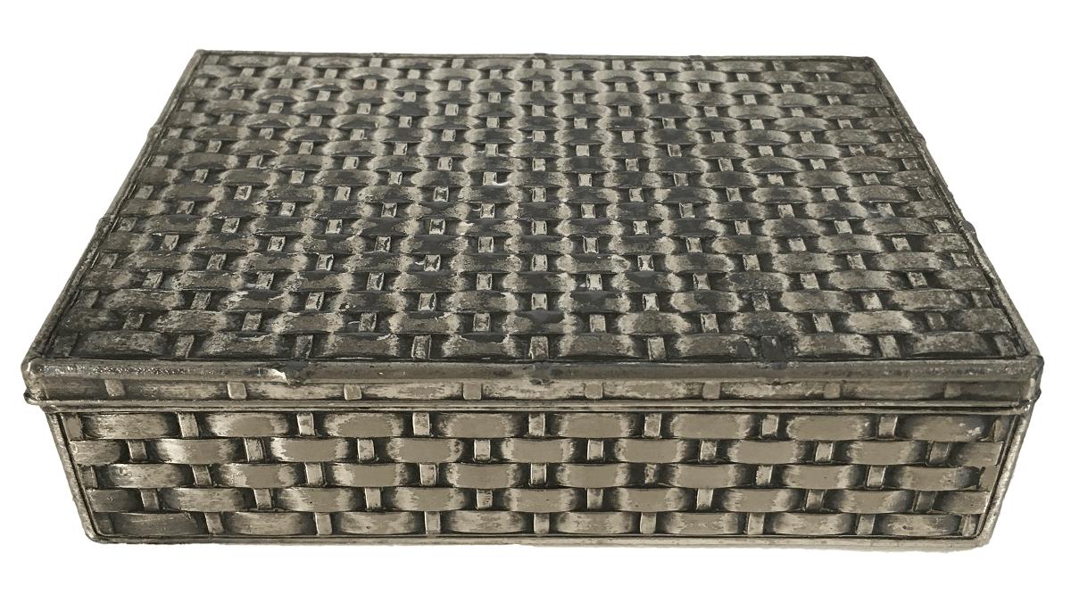 Antiga Caixinha Prata 90
