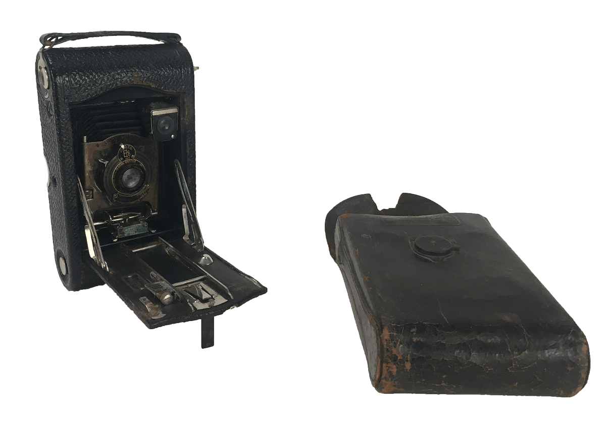 Antiga Camera Fotografica Kodak Autographic 1914