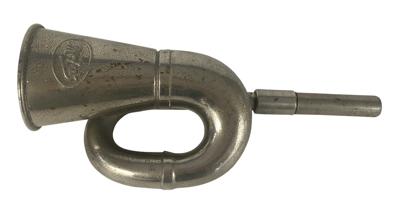 Antiga Corneta Pequena Instrumento Musical